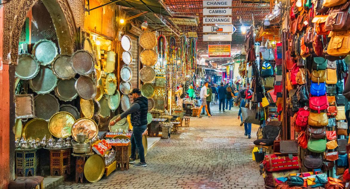 The souks of Mouassine - Marrakech tour guide